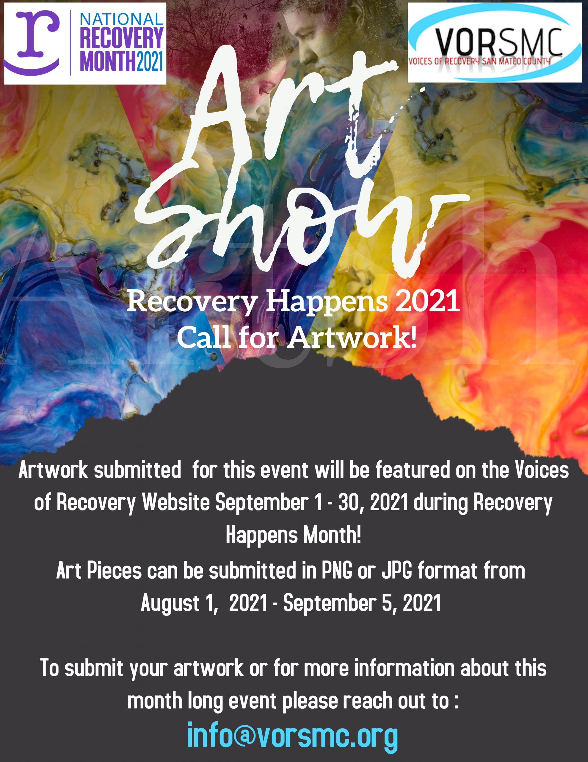 2021 Art Show Flyer Image