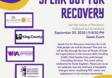 Speak Out Flier Sept 30 2020