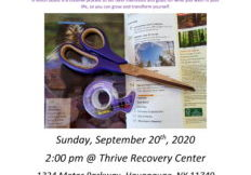 Thrive Suffolk - Recovery Month Vision Boards Event